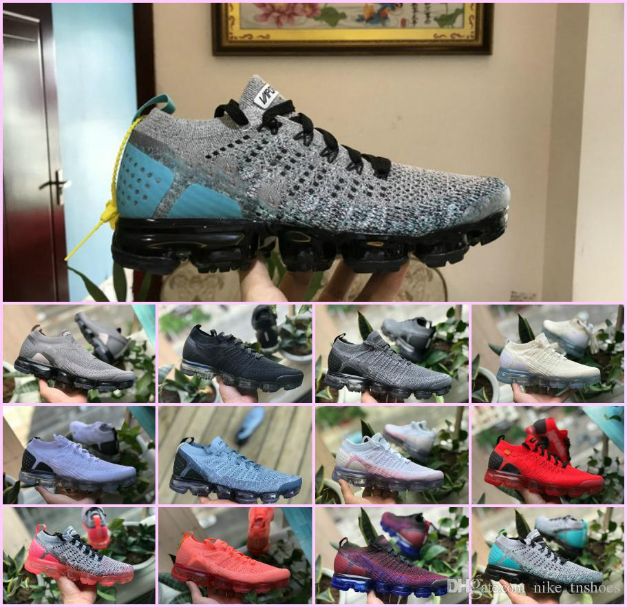 05152e2932d5 2018 New Airs Sports Shoes For Men 2.0 Ll2 V2 Sneakers Women Black ...