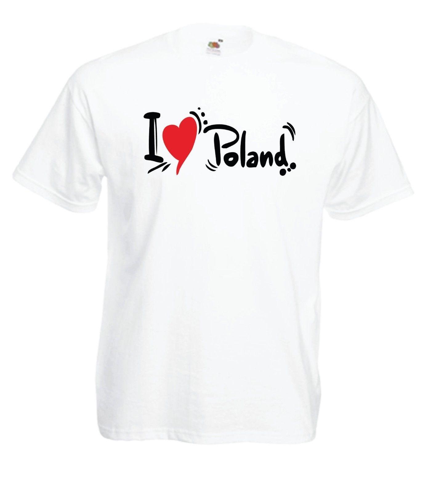 08c43a587 I LOVE POLAND Polska Polish Revolution Che Guevara New Mens Womens T SHIRT  TOP Mens T Shirts Funny Shirts From Summernight88, $11.48| DHgate.Com
