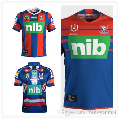 premium selection 5d8fe 8ed60 2019 NEWCASTLE KNIGHTS home rugby Jerseys NRL National Rugby League shirt  nrl jersey Newcastle Knights shirts s-3xl