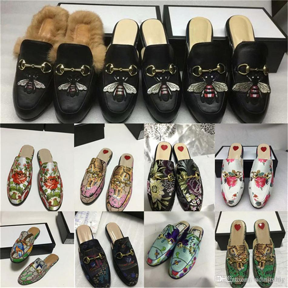 6d373239 Compre Mujer Princetown Zapatillas Con Gato Enojado Apliques Mocasines  Mocasines Encajes Ups Monk Correas Botas Zapatillas Conductores Sandalias  ...