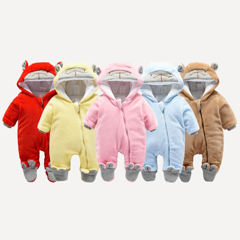60f09df6f879 HYLKIDHUOSE Infant Newborn Rompers 2019 Winter Baby Girl Boy Rompers ...