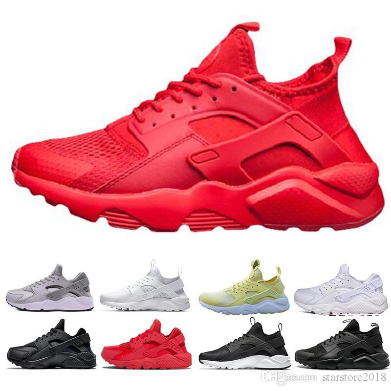 2019 Huarache Ultra Run Shoes Triple White Black Red Men Women Running Shoes  Yellow Grey Huaraches Sport Shoe Mens Womens Sneakers From Starstore2018 732064b3c2cd