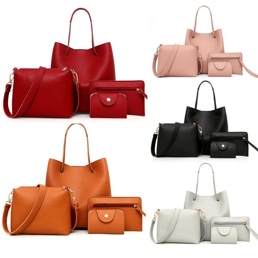 a087573084a7ee 2019 Fashion Leather Handbag Bags Handbags Women Famous Brands Crossbody Bag  Messenger Bag Card Package For Wedding Prom Party Canta Ladies Purses  Fashion ...