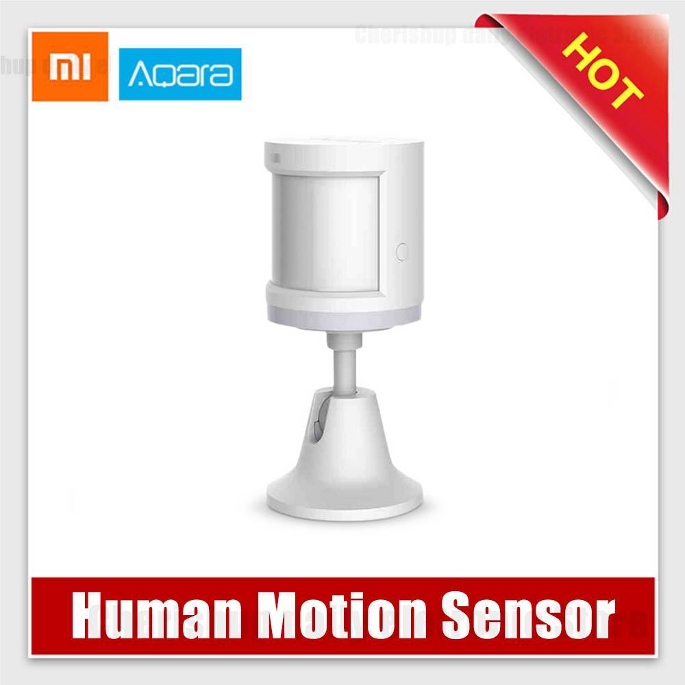 Xiaomi Aqara Human Body Sensor ZigBee Wireless Connection Light Intensity  Sensors Mi home APP Control Work with Xiaomi Gateway 2