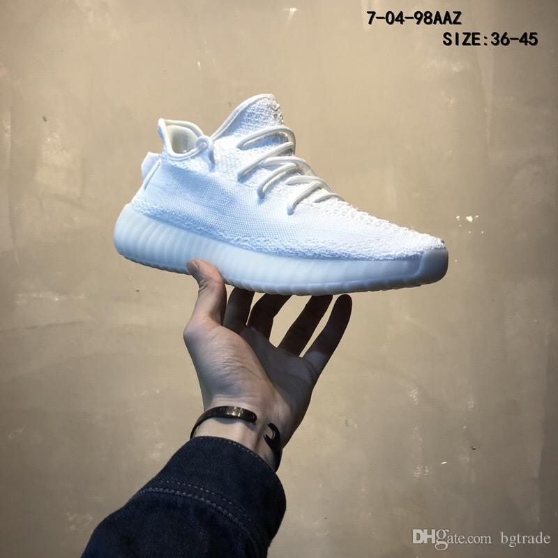 16b7e11c5 2019 Butter 350 V2 Boot Beluga 2.0 Shoes Sneakers Static 350 V2 Women Men  Shoes Cream White Without Box From Bgtrade