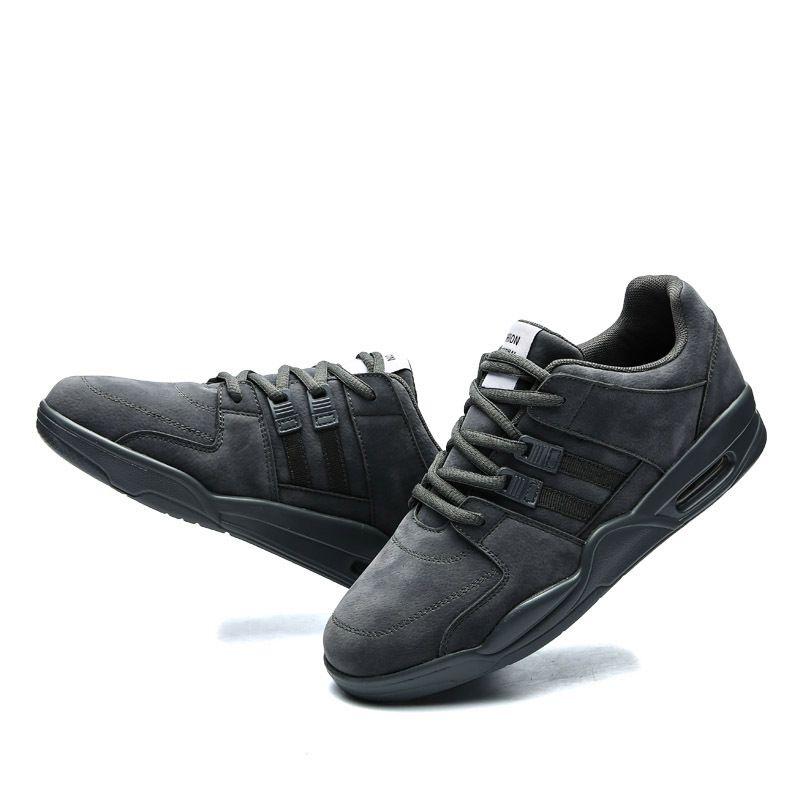 Compre Zapatos De Baloncesto Para Hombre Con Cordones Deportes Que Se  Ejecutan Zapatos Transpirables Ocasionales Zapatillas De Deporte Moda  Zapatillas De ... c0e6ba9084e