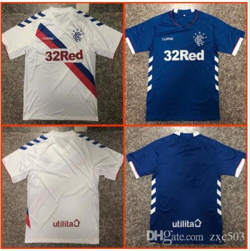 ab307dccaac Top Thailand Quality Glasgow Rangers Soccer Jersey 2019 Ranger 18 19 ...