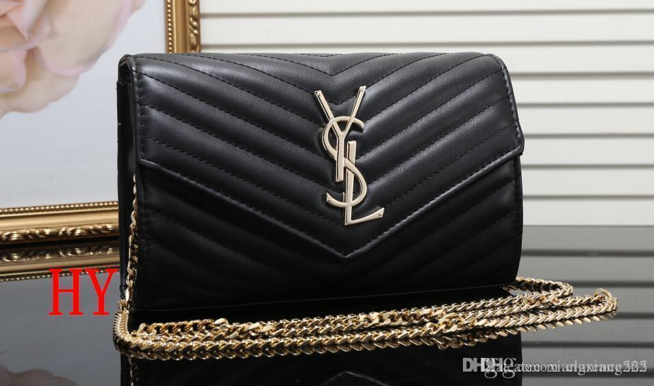 7b824723 38 YSL women's Leather chain bag handbag Shoulder Bag Envelope bag  Crossbody bags Shopping messenger bags Evening clutch bags