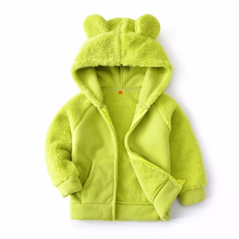 63d3ec30a Good Quality 2019 Spring Autumn New Girls Boys Fleece Jacket Children Long  Sleeve Outerwear Coats Baby Costume Kids Hooded Jacket Kids 3 In 1 Winter  Jackets ...