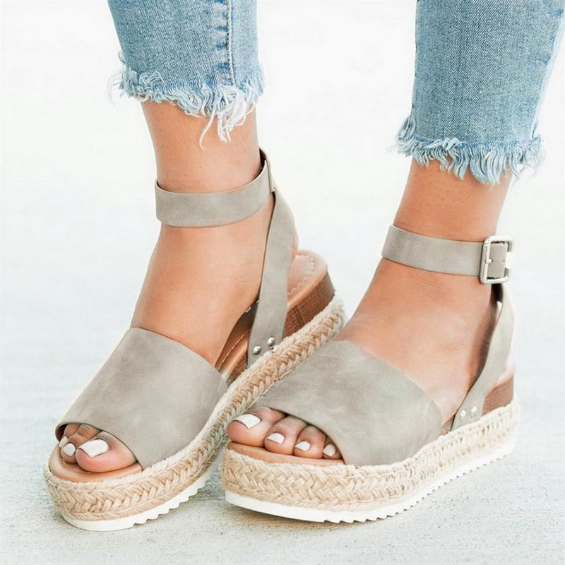 Oeak Wedges Sandals Shoes Women Heels Torridity Shoes 2019 Flop Chaussures Sandals 2019