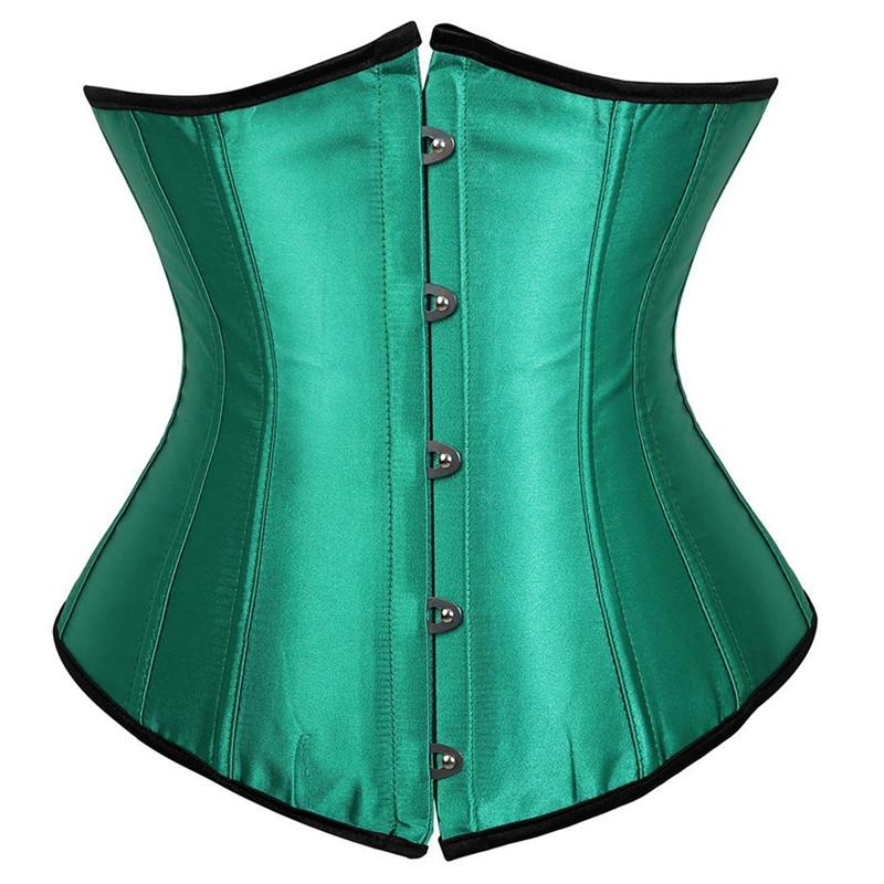 a8422c715c 2019 Gothic Underbust Corset And Waist Cincher Bustiers Top Workout Shape  Body Belt Plus Size Lingerie Corsets Underbust S 6XL New From Dalivid