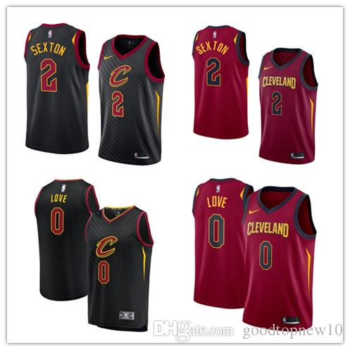 75c7ae8fe80 New Cleveland Collin 2 Sexton Cavaliers Jersey Mens Kevin 0 Love Swingman  Basketball Icon Edition Funny Political T Shirts Tee Designs From  Shoes1126