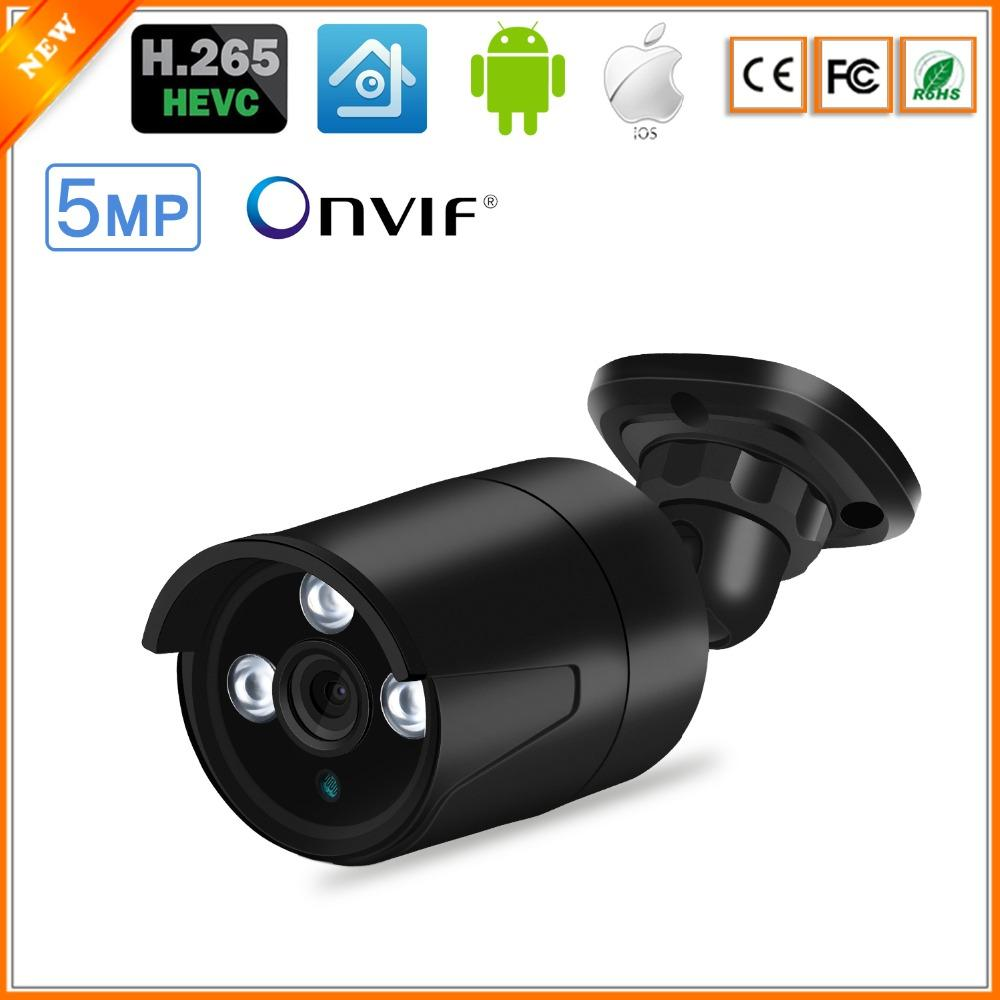 BESDER H.265 IP Camera 5MP/3MP Metal Case IP67 Waterproof Outdoor CCTV Camera Night Vision Security Video Surveillance ONVIF P2P