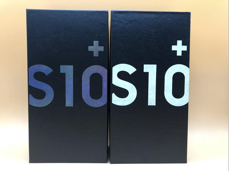 20Pcs US EU New Original S10 S10+ S10e Phone Box With Phone Accessories Box Packaging Box Case For Galaxy S10 Plus S10e