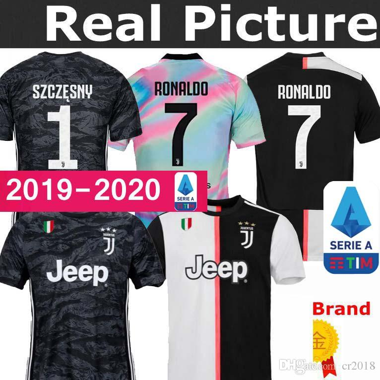premium selection f0c19 e7fe7 19 20 Juventus jersey New Serie A Goalkeeper RONALDO 2019 2020 DYBALA home  away D. COSTA #7 MANDZUKIC PJANIC football uniform Sales Shirts