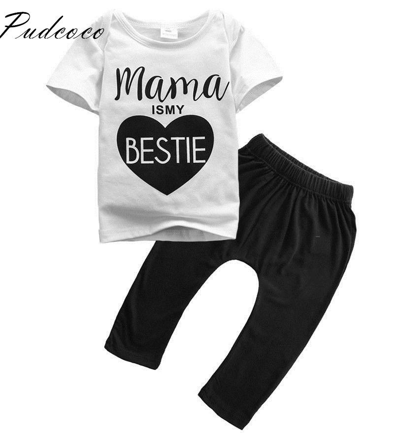 f93b7c350 Pudcoco 2019 Brand New Mamas Infant Newborn Baby Boys Girls Clothes ...