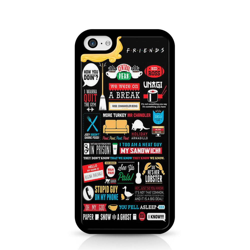 finest selection 0bbbb 70802 Friends Quotes Collage Phone Case For Iphone 5c 5s 6s 6plus 6splus 7 7plus  Samsung Galaxy S5 S6 S6ep S7 S7ep