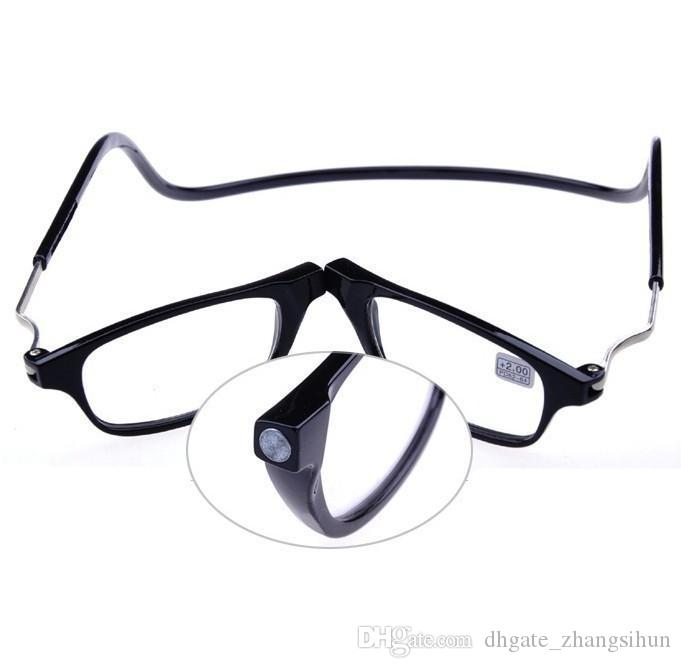 04b788a26e7 Popular Magnetic Reading Glasses With Diopter +1.0 +1.5 +2.0 +2.5 + ...