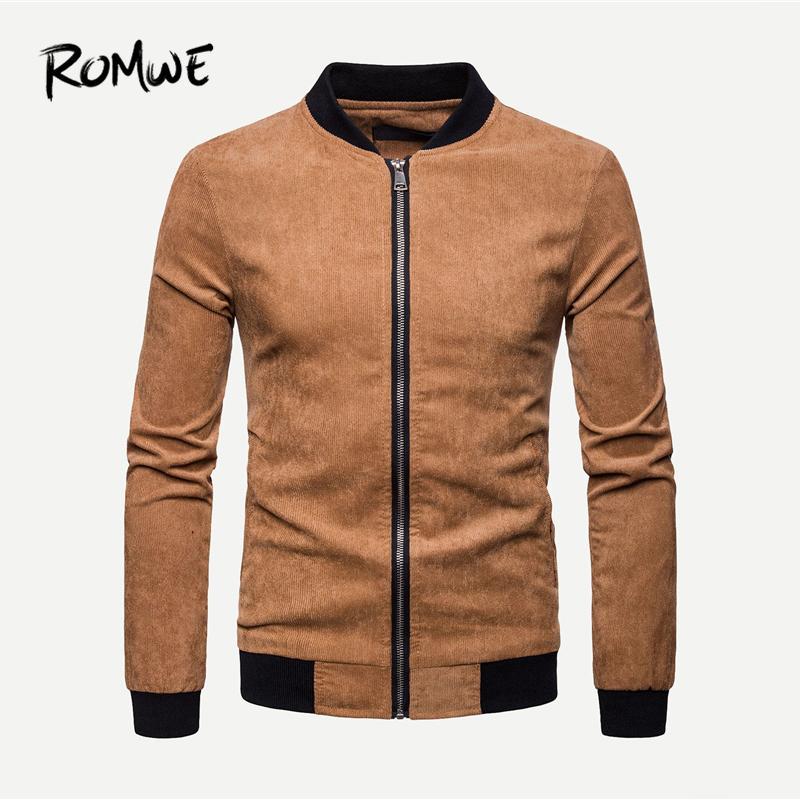 Men Corduroy Jacket 2019 Fashion Spring Autumn Coats And Jackets