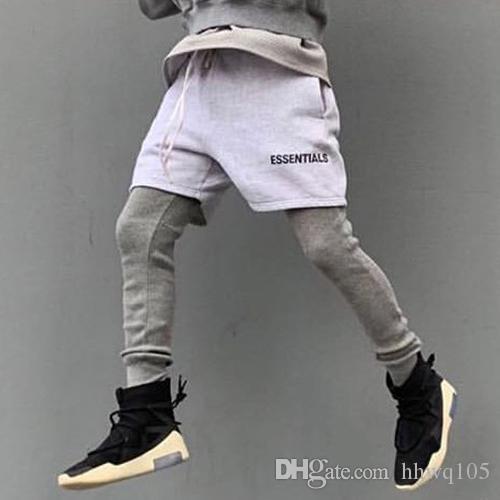 Pantalones cortos con cord/ón para hombre Essentials