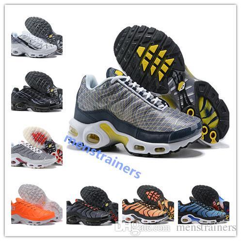 plus récent 12469 a1532 nike air max Original Nouveau Tn Se Hommes Baskets Designer Zapatillas  Hombre Tn Plus Hommes Chaussures de Course Chaussures de Sport Homme  Baskets ...