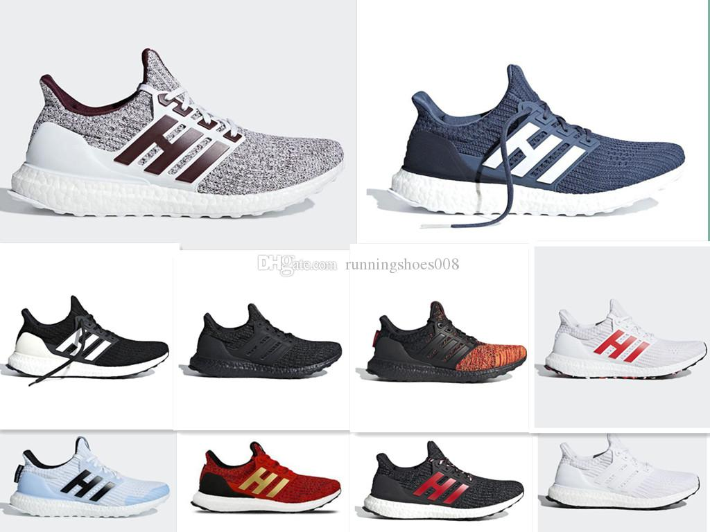 2019 Game Of Thrones Red Stripes UB 4 0 Running Shoes Triple