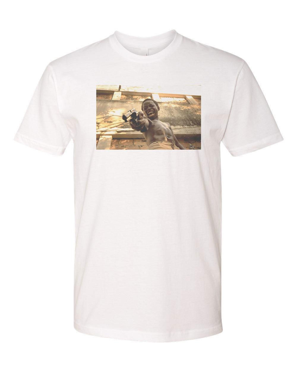 City Of God Lil Dice Custom Mens T-Shirt Next Level Soft Tee-White size  discout hot new tshirt