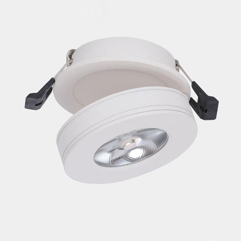 Iluminación ultraligera de 3W 7W 10W COB downlight de la lámpara del techo de la luz del punto con la lámpara plegable llevada de la luz de la pista del conductor