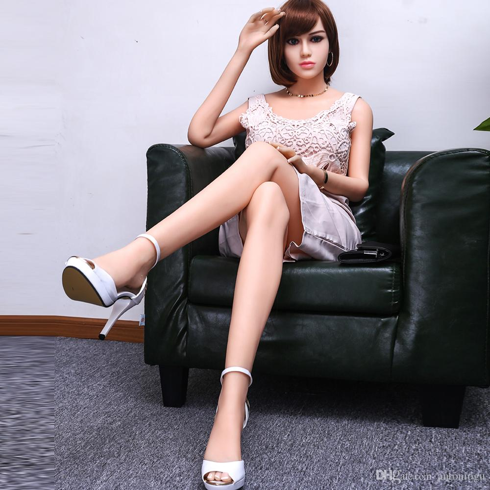 Sex Dolls Lifelike Sex Doll Cheap 165cm New Full Silicone Big Breast Male Silicone Sex Doll Beautiful Girl Perfect Skin Japanese Full