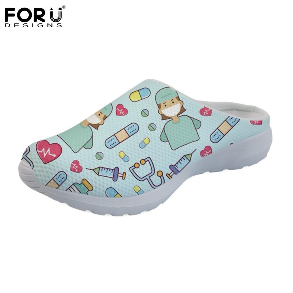 67d616c02c0 Wholesale sandals women summer casual nurse shoes flats mesh jpg 1000x1000 Nurse  shoes that look like