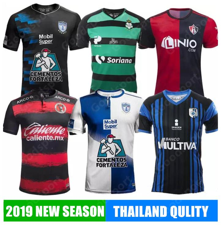 2019 2019 Mexico Club Jersey PACHUCA Atlas Necaxa LEON Liga MX Club Soccer JERSEY  2018 Santos Laguna Club Tijuana Football Kits Futbal Calcio From ... 024552c45