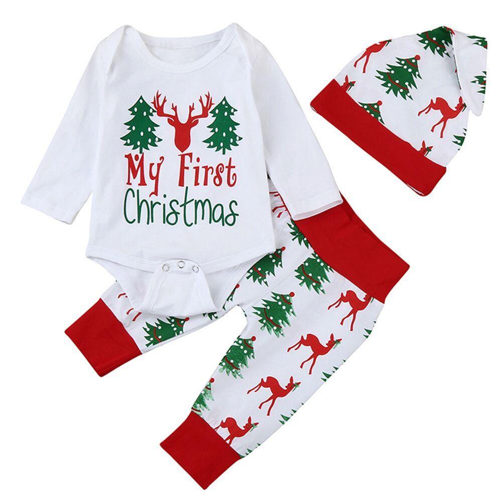 9b2a7d249 2019 Good Quality Fashion Christmas Clothes Baby Boy Girl Clothing ...