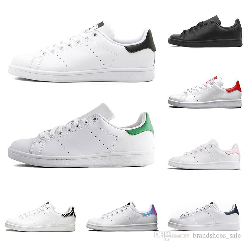 cb537f24d45 Compre Barato Adidas Smith Hombres Mujeres Zapatos Casuales Verde ...