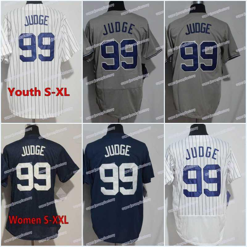 b42043786b0 99 Aaron Judge Jersey Men's Cheap High Quality Women/Youth Authentic  Stitched Aaron Judge Free Shipping Size S-XXXL Baseball Jerseys