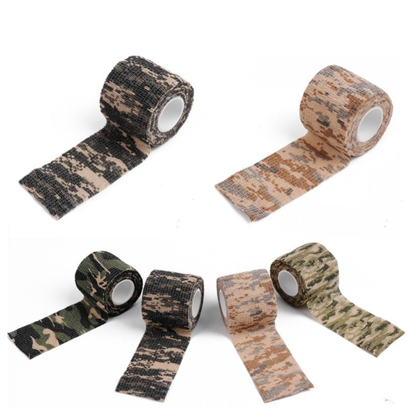 Military Camouflage Adhesive Tape Security Protection Waterproof Elastic Self Adhesive Medical Elastic Bandage First Aid Kit Gun (16)_