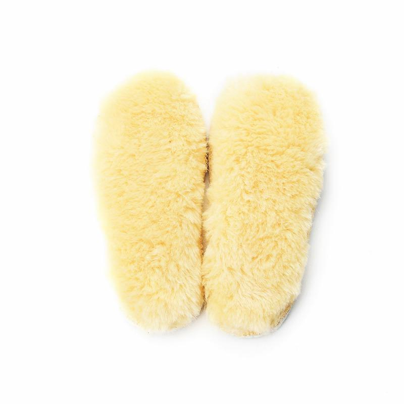 100% Cotton Natural Thermal Insoles for baby Winter Warm Insoles 0-18M Kids Snow Boots Shoe Pad Cheap