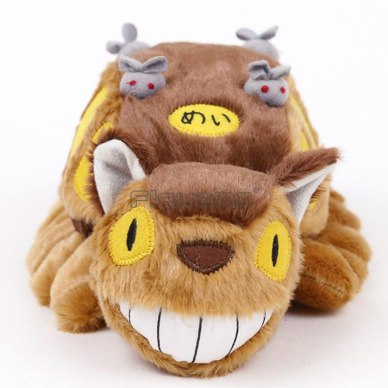 Kawaii Totoro Cat Buss Anime Cartoon peluche Peluche peluche Poupée animaux