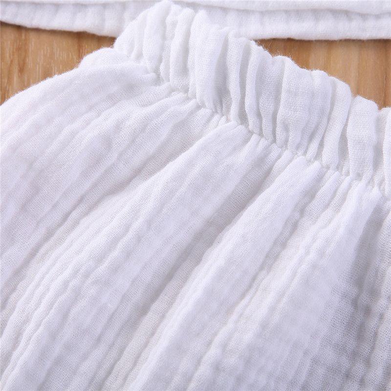 pudcoco الصيف الساخن أطفال الرضع عادي الملابس تعيين طفل رضيع فتاة CottonLinen بلايز تي شيرت + سروال قصير وتتسابق عارضة مطاطا