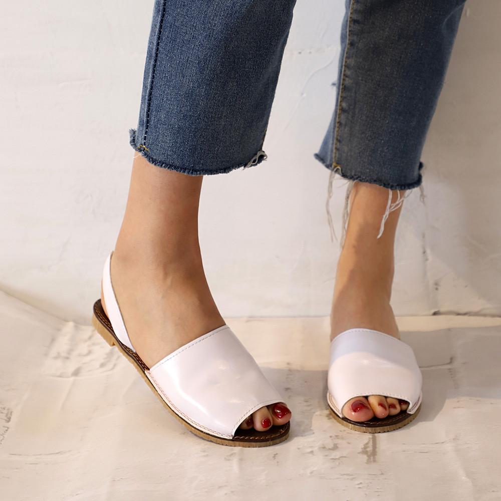 Verano Más Planos El Zapatos Las De Mujeres Youyedian Tamaño Sandalias Mujer PlataformaW35 Blancas Señoras 43Rj5AL