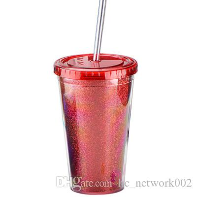 68c36d82dd1 2019 Double Wall Acrylic Tumblers Travel Mugs Unbreakable Simple Modern  Classic Insulated With Lid Reusable Straw Assorted Colors From  Hc_network002, ...