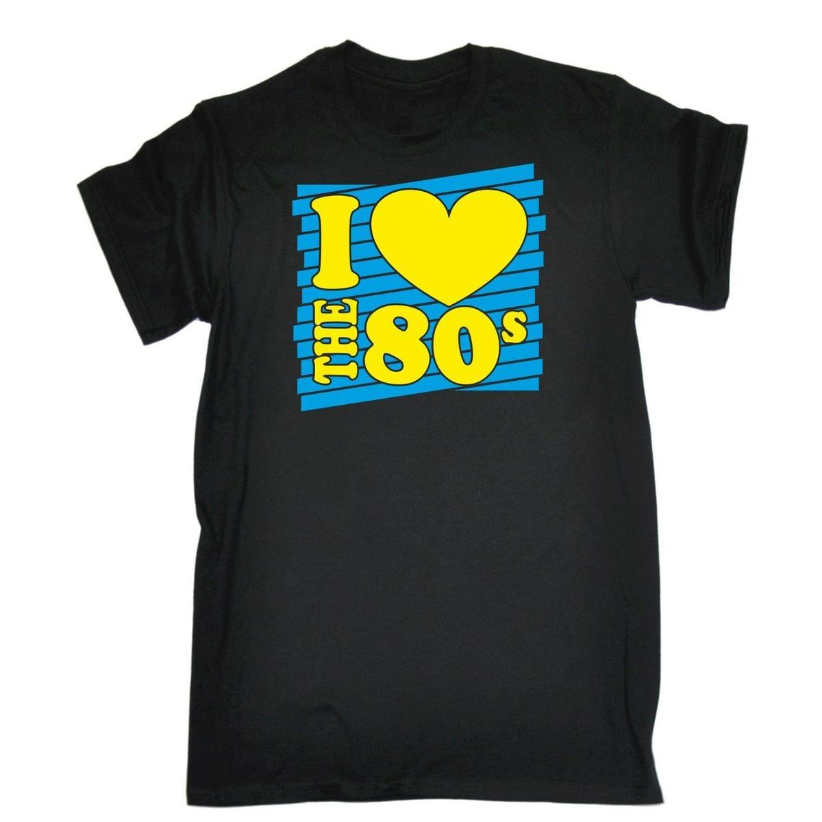 548b018bb I Heart The 80s T SHIRT Costume Retro Fancy Dress Disco Eighties 80'S  Birthday Shirts Online T Shirt Creator From Yuxin0007, $15.53| DHgate.Com