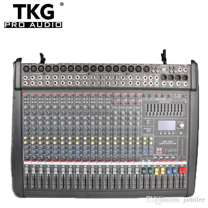 10 Channel Compact Mid-Size Mixing Console audio sound professional mixer  CMS1000-3