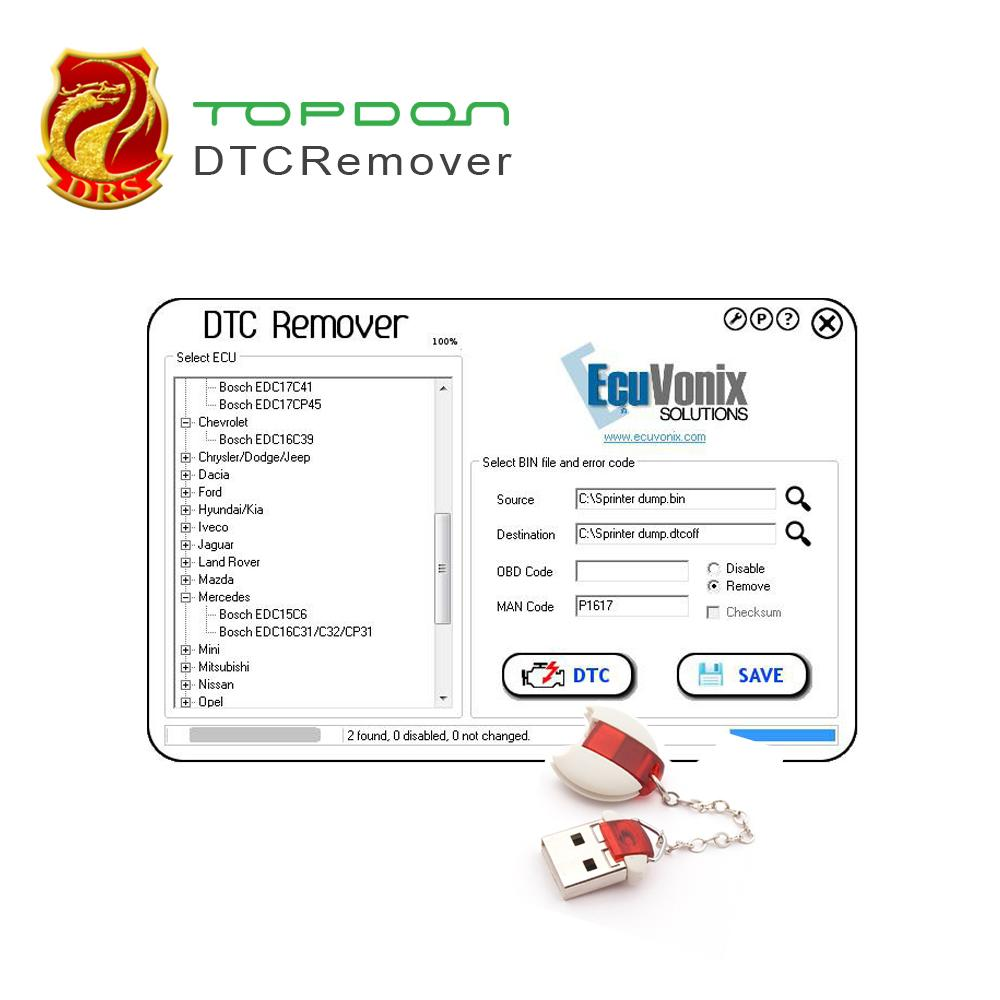 6 Languages DTCRemover DTC Remover Use to remove or disable DTCs for  different Cars ODB M-BUS Car of run