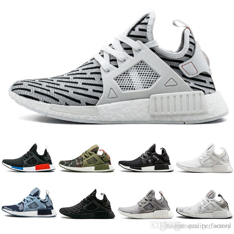 b8f4db2f2d24 2019 2018 Zebra NMD XR1 Running Shoes Mastermind Japan Fall Olive Green  Camo Glitch Black White Blue Pack OG Classic Men Women Sports Sneskers From  ...