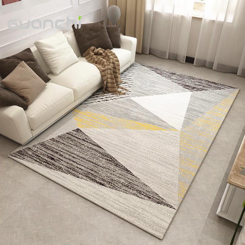 Geometrische Teppich Große Wohnzimmer Wohnzimmer Teppiche Teppiche  Schlafzimmer Seite Dekoration Matten Dekoration Pad