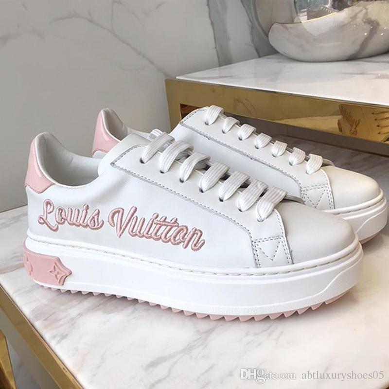 db616af46db0 Calzado deportivo para mujer Plataforma Pisos Zapatillas de tenis Zapatos  con cordones Zapatillas de deporte de alta calidad M # 56 Zapatos de mujer  ...