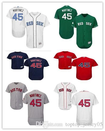 new style 6bd3c 434ce 2018 can Boston Red Sox Jerseys #45 Pedro Martinez Jerseys  men#WOMEN#YOUTH#Men s Baseball Jersey Majestic Stitched Professional  sportswear