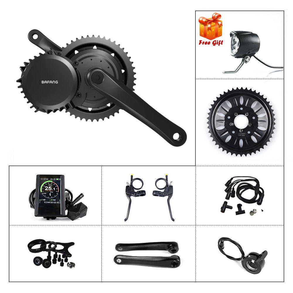 Ebike Bafang Mid Motor BBSHD 48V 1000W Electric Bicycle Conversion Drive  Display Kits BB 68-73 100 120 MM E-bike Powerful Parts BBS03 BBS03B