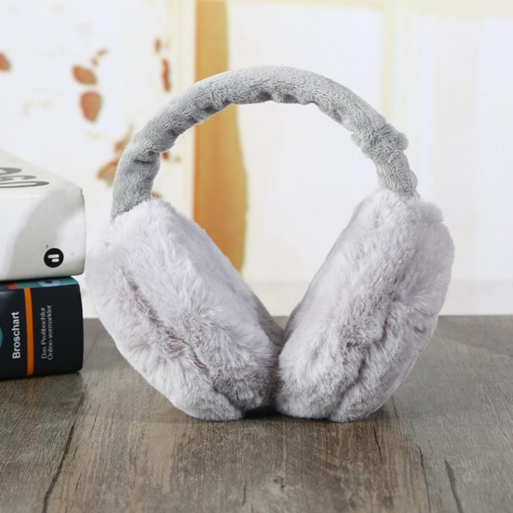 grand Prix meilleur magasins populaires Cache-oreilles d'hiver pour femmes imitation fourrure de lapin  Cache-oreilles d'hiver chaud femme coton oreille chauffe cadeaux de noël  fourrure