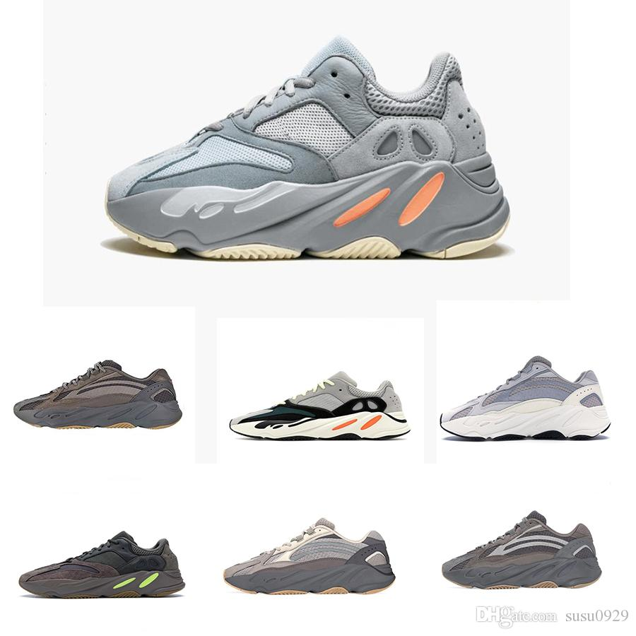 0a8aa00d3 Yeezy Yeezys Yeezy Boost 700 Wave Runner Mauve Inertia Running Shoes Cement  Geode Kanye West 700 Men Women 700 V2 Static Sports Seankers Size 36 46  Comfort ...